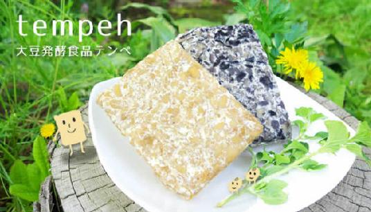 テンペは大豆発酵食品